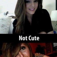 A Normal Cute Smile Vs Duckface!!!!