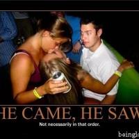 He Came, He Saw