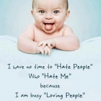 No Time To Hate People
