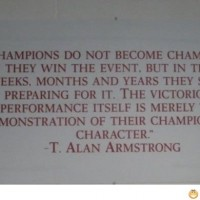 Olympic Games Quote – About Champions