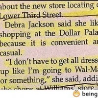 Debra Likes The Dollar Palace?