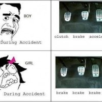 During Accident Boy Vs Girl