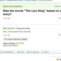 Was The Movie The Lion King Based On A True Story?
