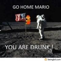 Go Home Mario!