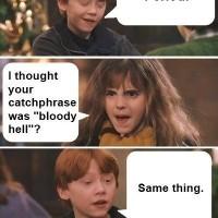Ron's Got It Right
