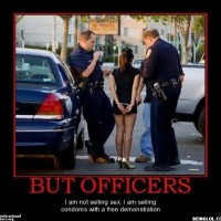 Comon Officers! It's A Public Service!!