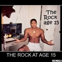 Rock, At The Age Of 15