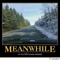Meanwhile At Us-canada Border