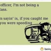 Look Officer…