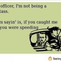 Look Officer…