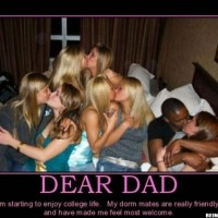 Dear Dad! I Start Enjoying My Collage Life