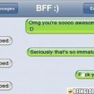 Immature Boyfriend