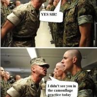 Camouflage Practice
