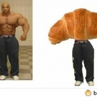 So He Became A Croissant