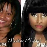 Nicki Minaj - Before And After Makeup !