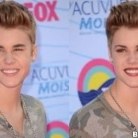Bieber With Make Up