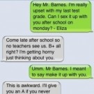 Awkward Teacher