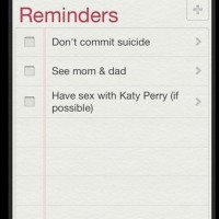 My Friend's To-do List For The Day