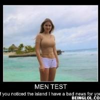 Men Test !