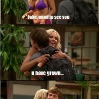 Epic Two And Half Men Scene .