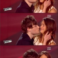 Epic Fail Kiss On The Voice !