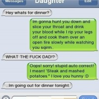 Fake Autocorrect Of All Time. Xd