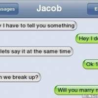 Can We Breakup ? Awkward !