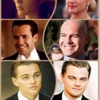 Titanic Cast Members - Then And Now.