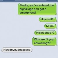 Mom Got A New Smartphone !