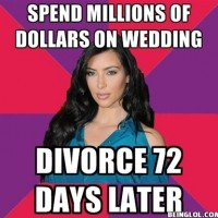 Kim Spend Millions Of Dollars On Wedding