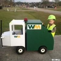 Dress Up As A Garbage Man