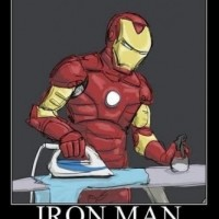 Iron Man At Work ! Lol