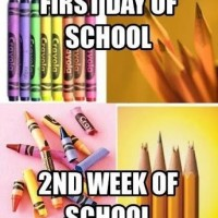 First Day Of School & 2nd Week Of School .