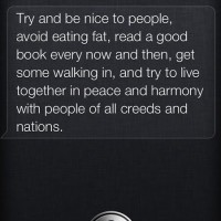 Life Lesson Courtesy Of Siri !