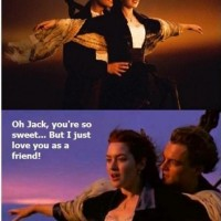 Friend Zone Level Titanic