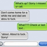 Wtf Mom!! Check Your Last Text
