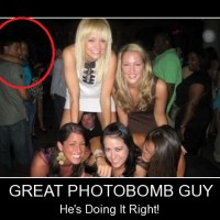 Photobomb Can Not Get Any Better Than This