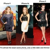 Emma Watson Is Like Iphone