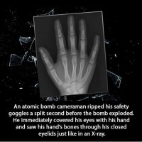 Did You Know That An Atomic Bomb Cameraman Ripped His...