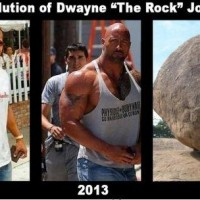 Evolution Of The Rock