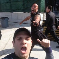 Rock Photobombing By Fan