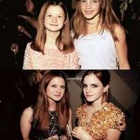 Emma Watson And Bonnie Aka Ginny And Hermione