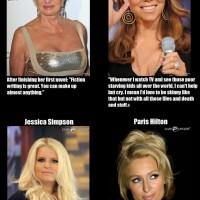 Celebrity Quotes! Dumb