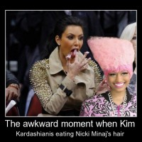 The Awkward Moment When Kim Kardashianis...