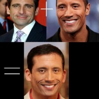 Mixture Of Steve Carell And The Rock