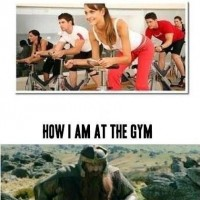How I Am At The Gym