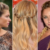 Cute Celebrity Inspired Braid Ideas
