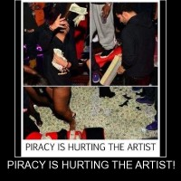 Piracy Hurts The Artist!