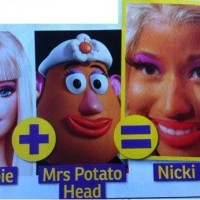 Barbie + Mrs Patato Head =?