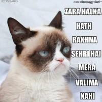Zara Halka Haath Rakhna Sehri Hai ..!